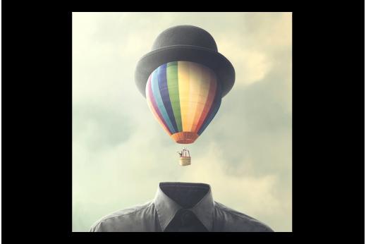 Постер Воздушный шар